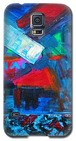 Downtown Night Lights Galaxy S5 Case by Walter Fahmy