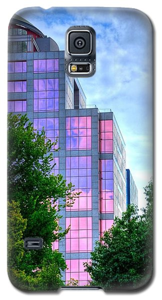 Downtown Reflections 17341 Galaxy S5 Case by Jerry Sodorff
