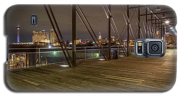 Downtown San Antonio From The Hays Street Bridge Galaxy S5 Case