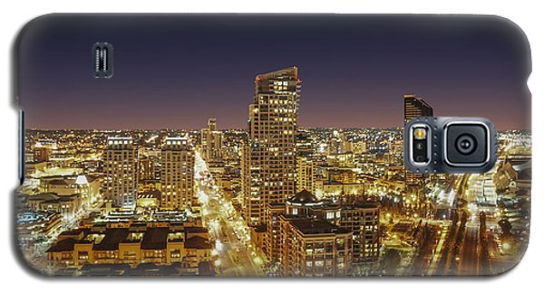 Galaxy S5 Case featuring the photograph Downtown San Diego by Alex Weinstein