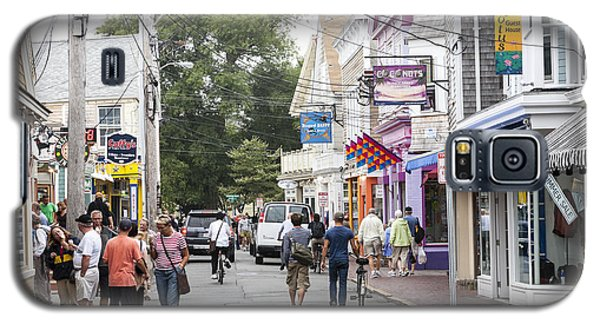 Downtown Scene In Provincetown On Cape Cod In Massachusetts Galaxy S5 Case