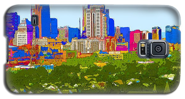 Downtown St. Louis From The Southwest Abstract Galaxy S5 Case