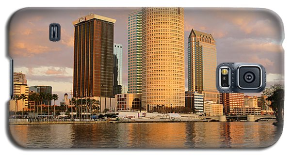 Downtown Tampa At Dusk On Hillsborough River Galaxy S5 Case