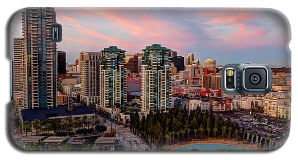 Galaxy S5 Case featuring the photograph Downtown View San Diego by Heidi Smith
