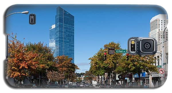 Downtown White Plains New York IIi Galaxy S5 Case