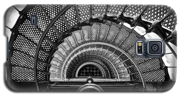 Downward Spiral Bw Galaxy S5 Case