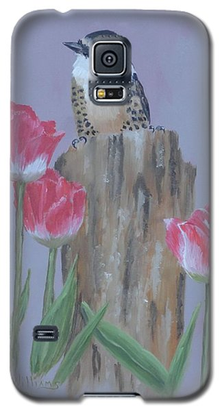 Downy Woodpecker Galaxy S5 Case