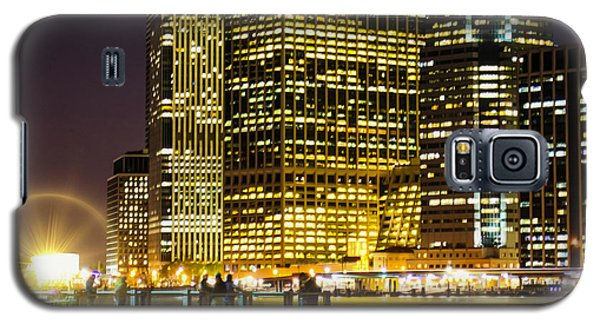 Downtown Lights Galaxy S5 Case