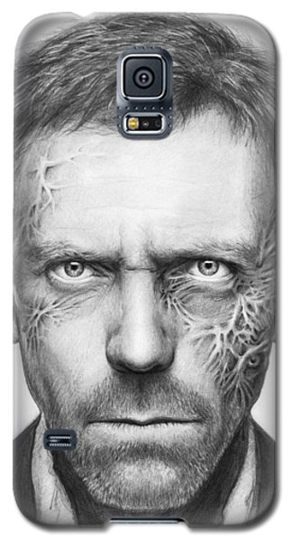 Dr. Gregory House - House Md Galaxy S5 Case by Olga Shvartsur