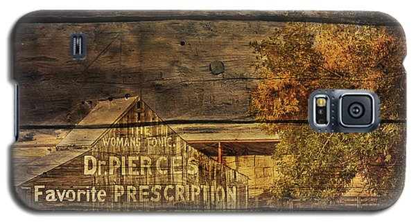 Galaxy S5 Case featuring the photograph Dr. Pierce's Barn by Priscilla Burgers