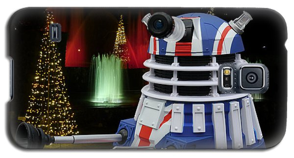 Dr Who - Dalek Christmas Galaxy S5 Case by Richard Reeve