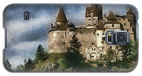 Dracula Castle Romania Galaxy S5 Case by Georgi Dimitrov