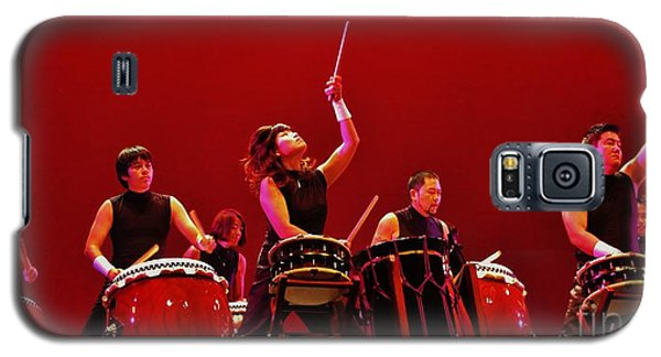 Galaxy S5 Case featuring the photograph Dragon Beat Taiko by Craig Wood