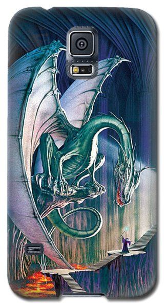 Dragon Lair With Stairs Galaxy S5 Case by The Dragon Chronicles - Robin Ko