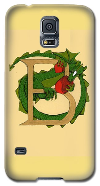 Dragon Letter B Galaxy S5 Case by Donna Huntriss
