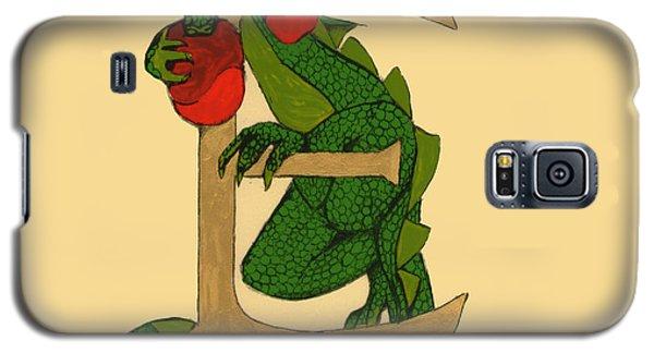 Dragon Letter E Galaxy S5 Case by Donna Huntriss