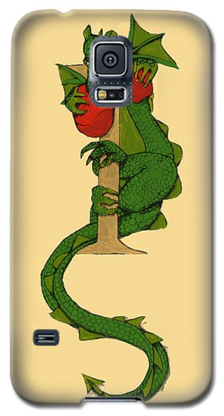 Dragon Letter I Galaxy S5 Case by Donna Huntriss