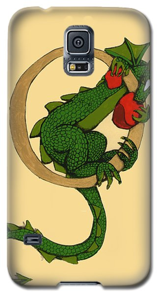 Dragon Letter O Galaxy S5 Case by Donna Huntriss