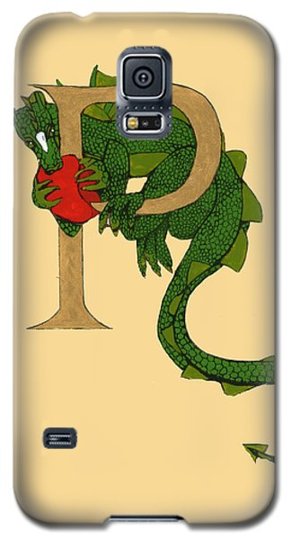 Dragon Letter P Galaxy S5 Case by Donna Huntriss