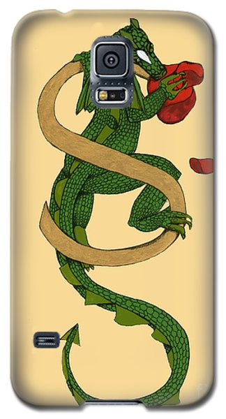 Dragon Letter S Galaxy S5 Case by Donna Huntriss