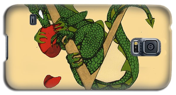 Dragon Letter V Galaxy S5 Case by Donna Huntriss