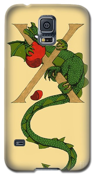Dragon Letter X Galaxy S5 Case by Donna Huntriss