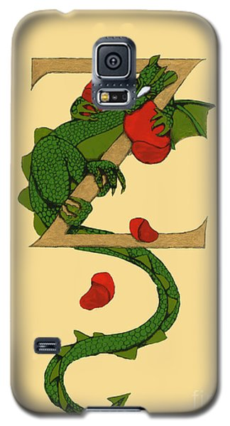 Dragon Letter Z Galaxy S5 Case by Donna Huntriss