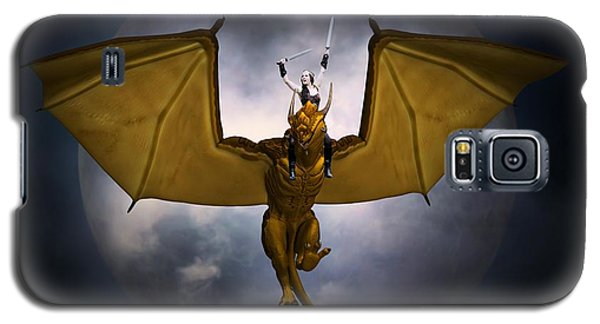 Dragon Rider Galaxy S5 Case