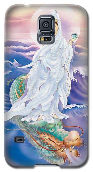 Dragon-riding Avalokitesvara  Galaxy S5 Case