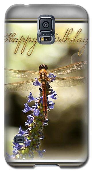 Dragonfly Birthday Card Galaxy S5 Case