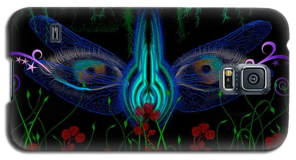 Dragonfly Eyes Series 6 Final Galaxy S5 Case