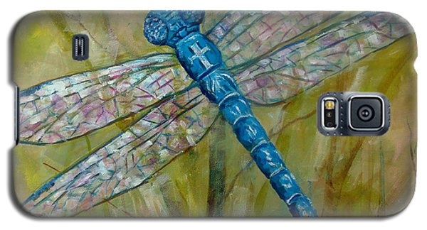 Dragonfly Galaxy S5 Case by Lou Ann Bagnall