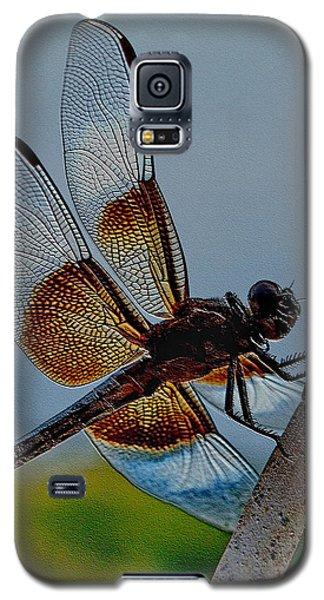 Dragonfly Sky Print Galaxy S5 Case