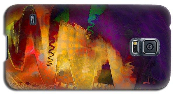 Galaxy S5 Case featuring the digital art Dragon's Teeth by Constance Krejci