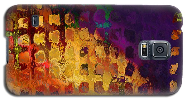 Galaxy S5 Case featuring the digital art Dragon's Teeth Fire Grate by Constance Krejci