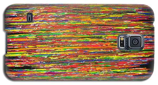 Galaxy S5 Case featuring the painting Drama by Jacqueline Athmann