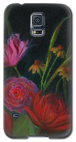 Dramatic Floral Still Life Painting Galaxy S5 Case