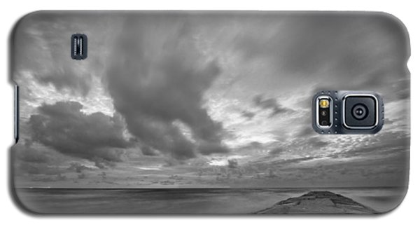 Dramatic Skies Over Galveston Jetty Galaxy S5 Case