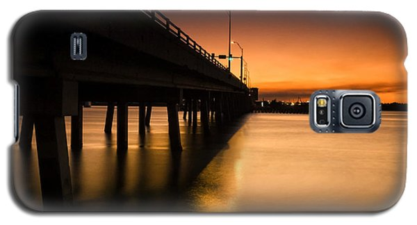 Drawbridge At Sunset Galaxy S5 Case