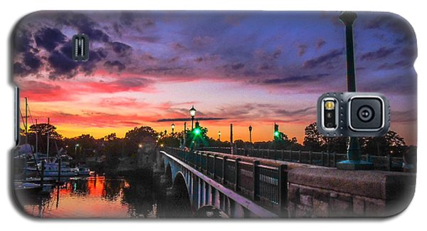 Drawbridge Sundown  Galaxy S5 Case