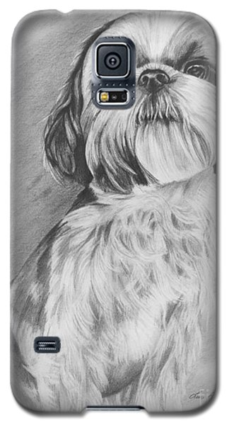 Drawing Of A Shih Tzu Galaxy S5 Case