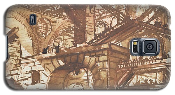 Dungeon Galaxy S5 Case - Drawing Of An Imaginary Prison by Giovanni Battista Piranesi