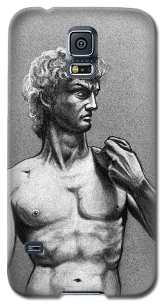 Drawing Of Michelangelos David Galaxy S5 Case