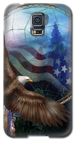 Dream Catcher - Freedom's Flight Galaxy S5 Case