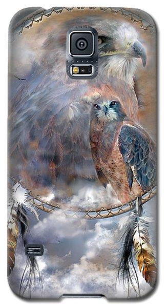 Dream Catcher - Hawk Spirit Galaxy S5 Case