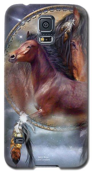 Dream Catcher - Spirit Horse Galaxy S5 Case