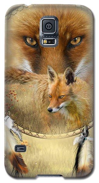 Dream Catcher- Spirit Of The Red Fox Galaxy S5 Case