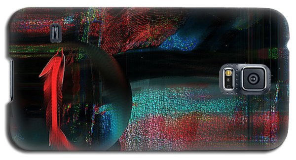 Galaxy S5 Case featuring the digital art Dream Catcher by Yul Olaivar