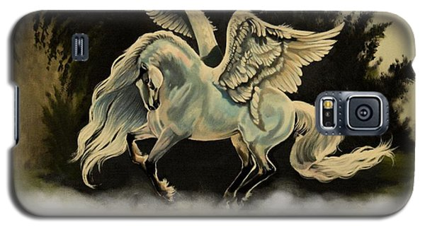 Dream Horse Series #206- A Pegasus In The Mist  Galaxy S5 Case