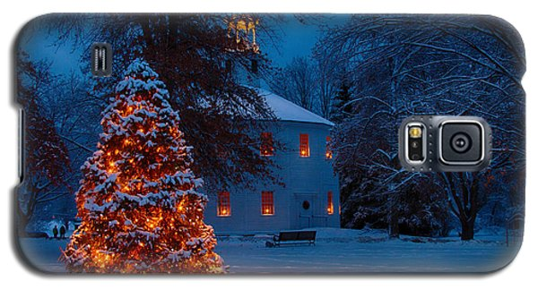 Christmas At The Richmond Round Church Galaxy S5 Case by Jeff Folger
